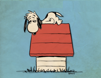 Image result for Snoopy headache